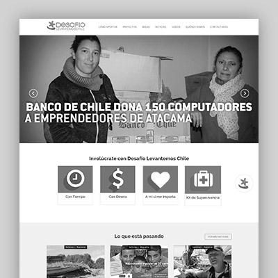 Desarrollo MEAT: Desafio levantemos Chile